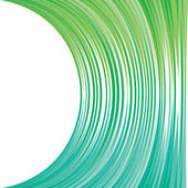 Abstract green strip background — Stock Vector