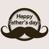Happy Father's Day — Stock Vector