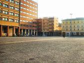 Praça italiana — Fotografia Stock