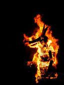 El año viejo quema — Foto de Stock