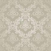Seamless pattern background.Damask wallpaper. Vector illustration — Stock Vector