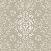 Adamaszku wzór kwiatowy wzór — Wektor stockowy