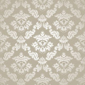 Seamless pattern background.Damask wallpaper. — Vettoriale Stock