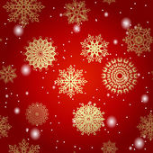 Christnas background. seamless wallpaper. — Vettoriale Stock