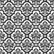Seamless pattern background.Damask wallpaper. — ベクター素材ストック