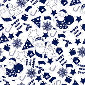 Christnas Background. Seamless Wallpaper. — Stockvektor