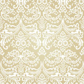 Damask Vintage Floral Seamless Pattern Background. — Stock Vector