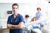 Retrato de um dentista — Foto Stock