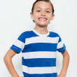 Handsome little boy — Stock Photo