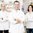 Stock Photo: Pharmaceutical team