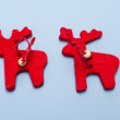 Christmas ornaments. Handmade crafts — Stock Photo