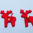 ストック写真: Christmas ornaments. Handmade crafts