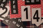 February 14. — Stock Photo