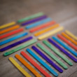 Multicolored sticks — Stock Photo #41196627