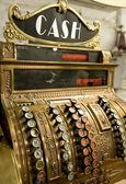 Vintage cash register — 图库照片