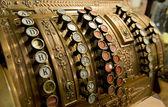 Vintage cash register — Stock Photo