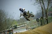 Dirt bike pilot (motor sport) — Foto de Stock