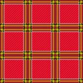 Patrón a cuadros rojo transparente — Vector de stock