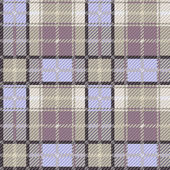Seamless checkered gray and blue pattern — Vettoriale Stock