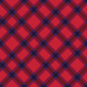 Seamless diagonal tartan texture — Stock Vector