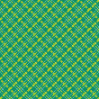 Seamless mesh diagonal pattern over green — Stock Vector #48115723