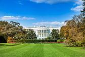 Biały dom — Zdjęcie stockowe