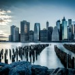 Lower Manhattan, new york city — Stockfoto