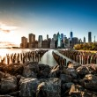 Lower Manhattan, new york city — Stock Photo #33225001