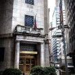 Stock Photo: New York Stock Exchange on Wall Street