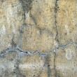 Grunge background: cracked concrete wall — Foto Stock