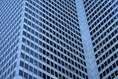 Three dimensions of a skyscraper — Stock Photo