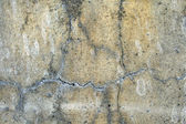 Grunge background: cracked concrete wall — Stock Photo