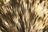 Shiny golden metallic texture — Stock Photo