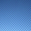 Chain link fence pattern — Stock Photo