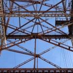 Abstract metallic construction — Stock Photo #21767671