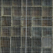 Rusty wire mesh background — Stock Photo