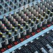 Professional mixing console — Stock Photo