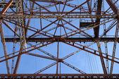 Construction métallique abstraite — Photo