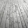 Stock Photo: Knotty wooden floor