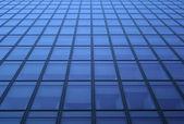 Blue windows pattern — Stock Photo
