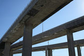 Side view of highway viaducts — Stock Photo