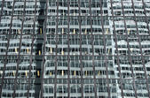 Abstract reflections in the corporate building — Stock Photo