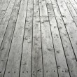 Stock Photo: Nailed wooden flooring