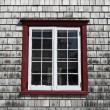 Window of an old country house — Stock Photo