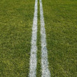 Stock Photo: Boundary lines of playing field