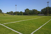 American football playing field — Stock Photo