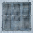 Painted wire mesh - Stock Photo