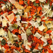 Dried vegetables background — Stock Photo
