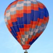 Vivid hot air balloon — Stock Photo