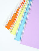 Colorful textbooks — Stock Photo